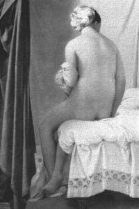 Jean-Auguste-Dominique Ingres, La bañista de Valpinçon (1808), París, Louvre